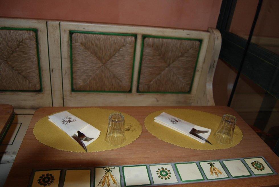 Fiaschetteria la Fett'Unta i tavoli