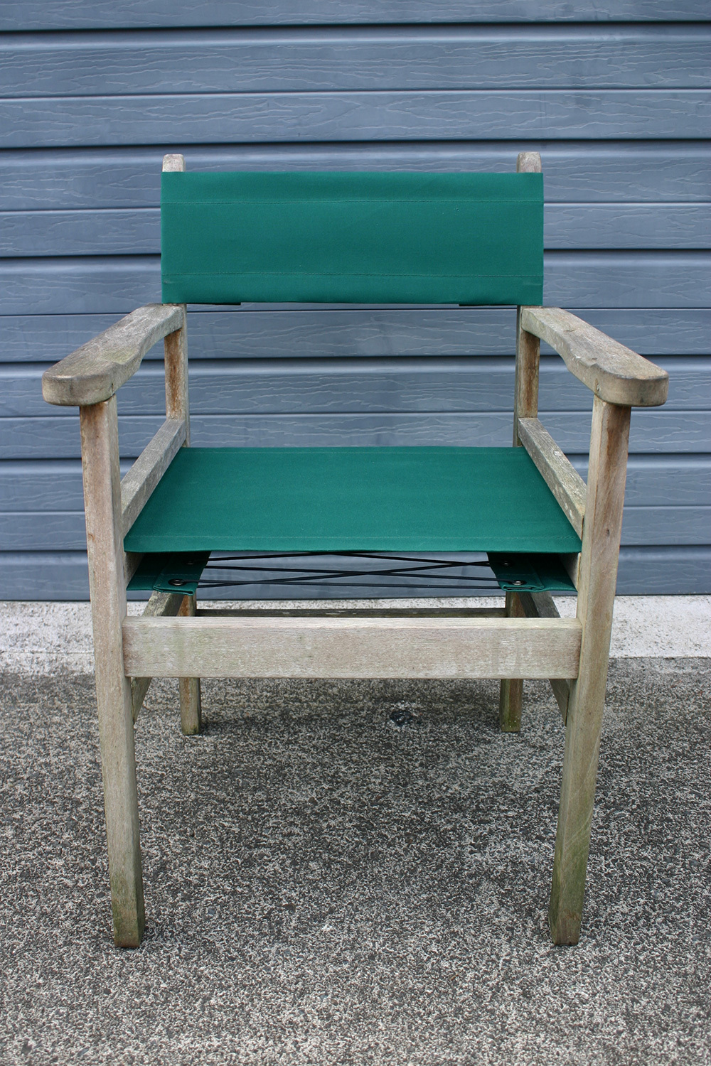 6/9 Chair recovered in Planosol Fir Green canvas