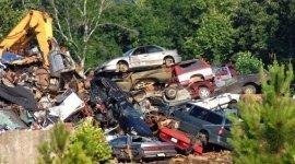 Demolizione auto incidentate