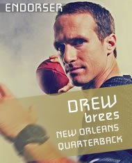 OFFICIAL NATIONAL SPOKESPERSON – DREW BREES