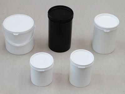 Barattoli a cilindro in plastica