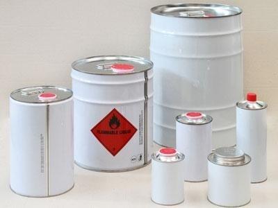 lattine cilindriche con tappo in plastica