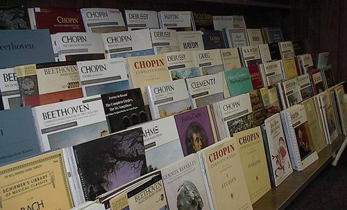Music books available in longest running music store in Columbia, MO