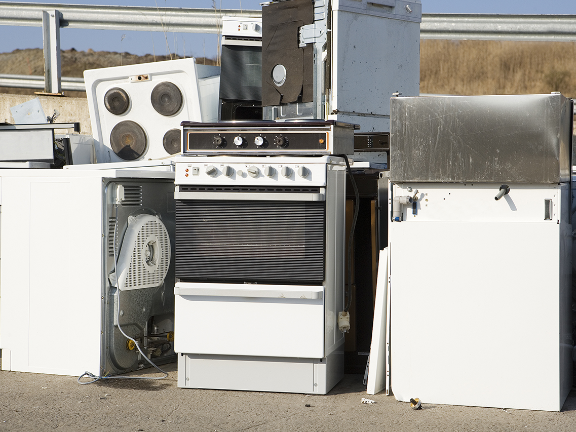 Kitchen appliance garbage