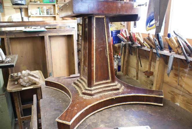 furniture after varnishing