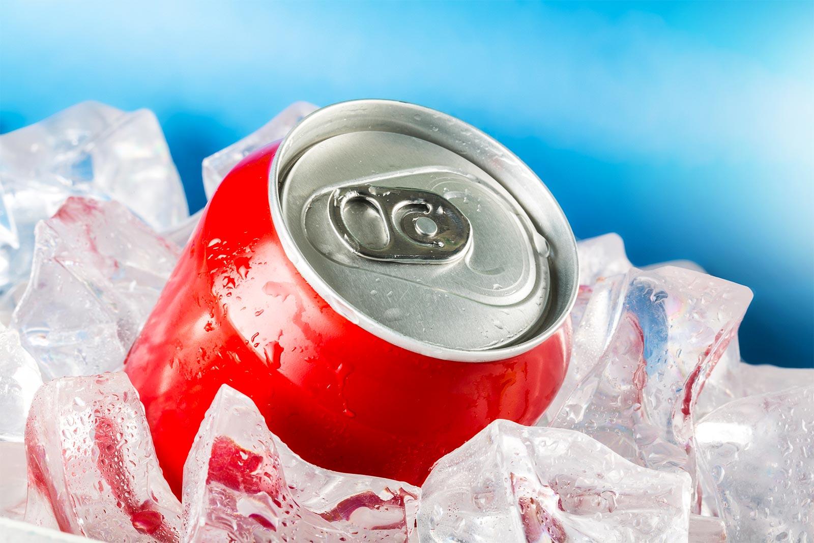 chilled beverage