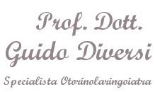 Prof. Dott. Guido Diversi Specialista Otorinolaringoiatra