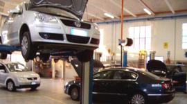 interno del laboratorio auto