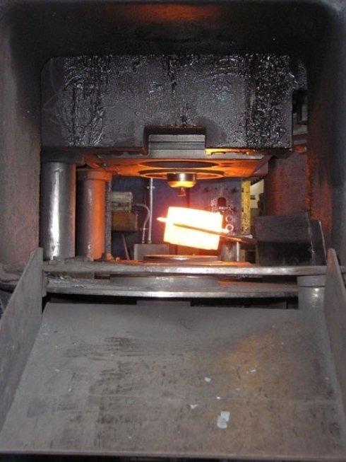 Erhitztes Metall
