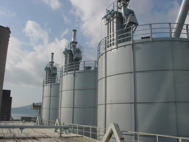 Impianto per importazione di cemento