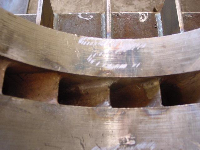 Particolare tubo per impianto produzione energia