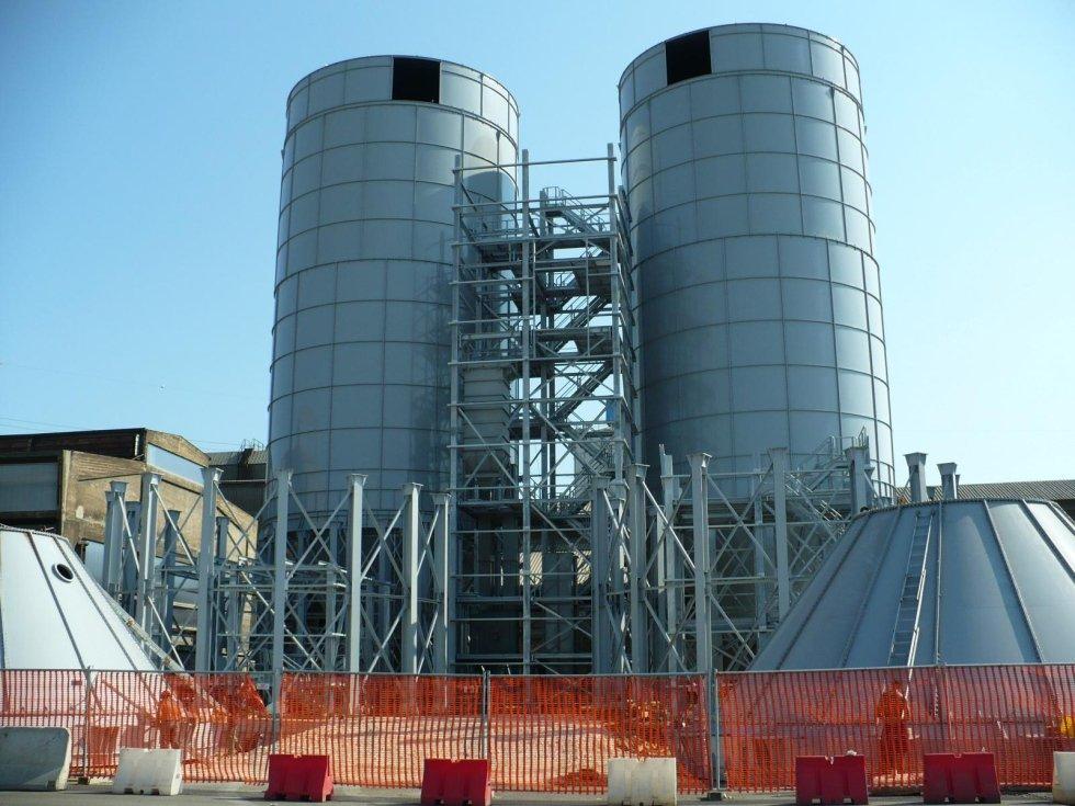 Impianto doppio silo