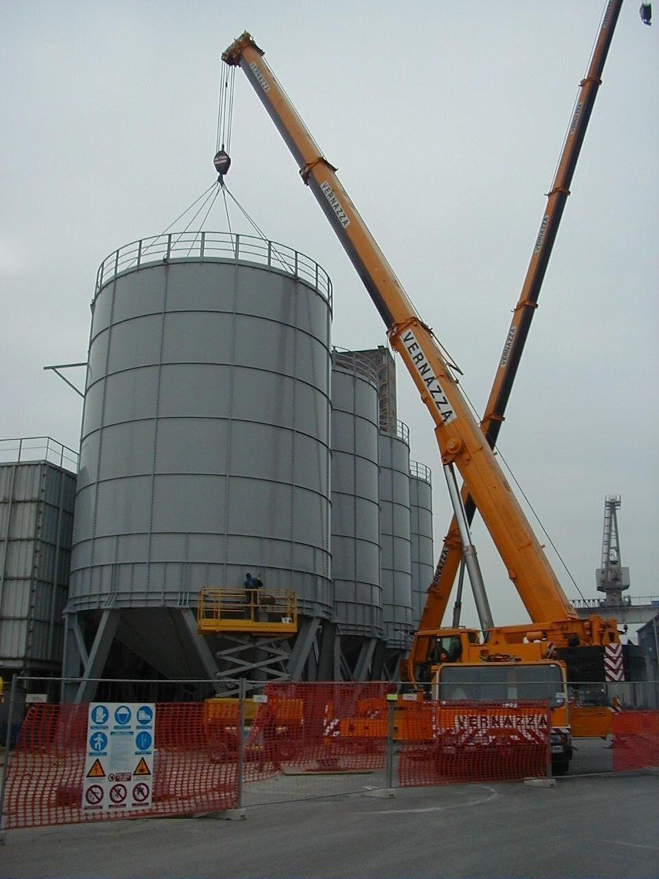 Impianto in costruzione