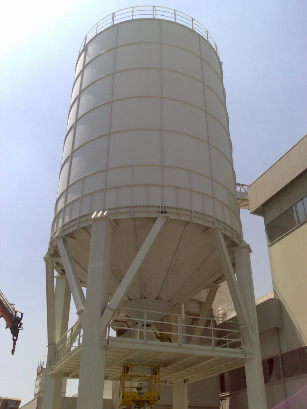 Impianto monolitico per cemento