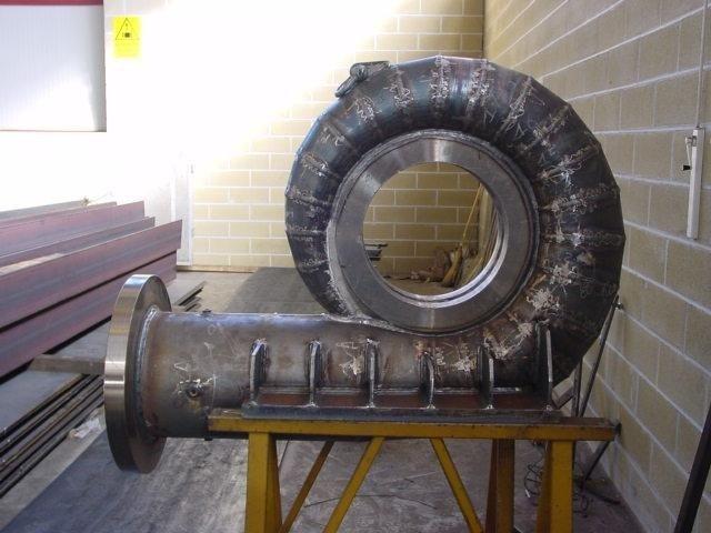 Tubo per impianto produzione energia