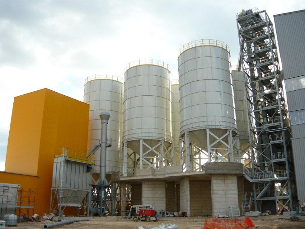 Impianto silo monolitico