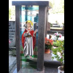 Vetrata per monumento, vetrata sacra