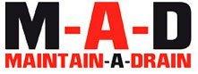 M_A_D Maintain-A-Drain Logo