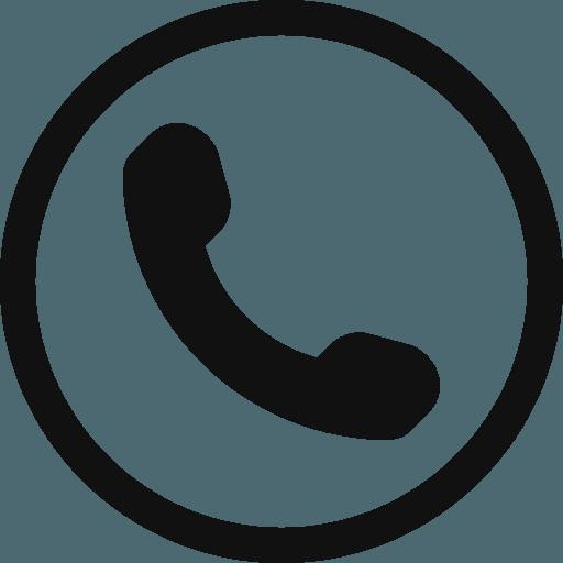 Icona di una cornetta di un telefono