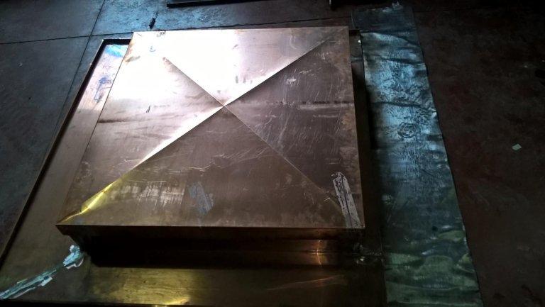 grondaie in acciaio; grondaie in alluminio