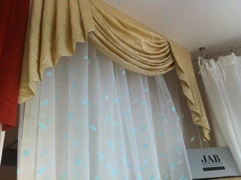 tende con drappeggio classico