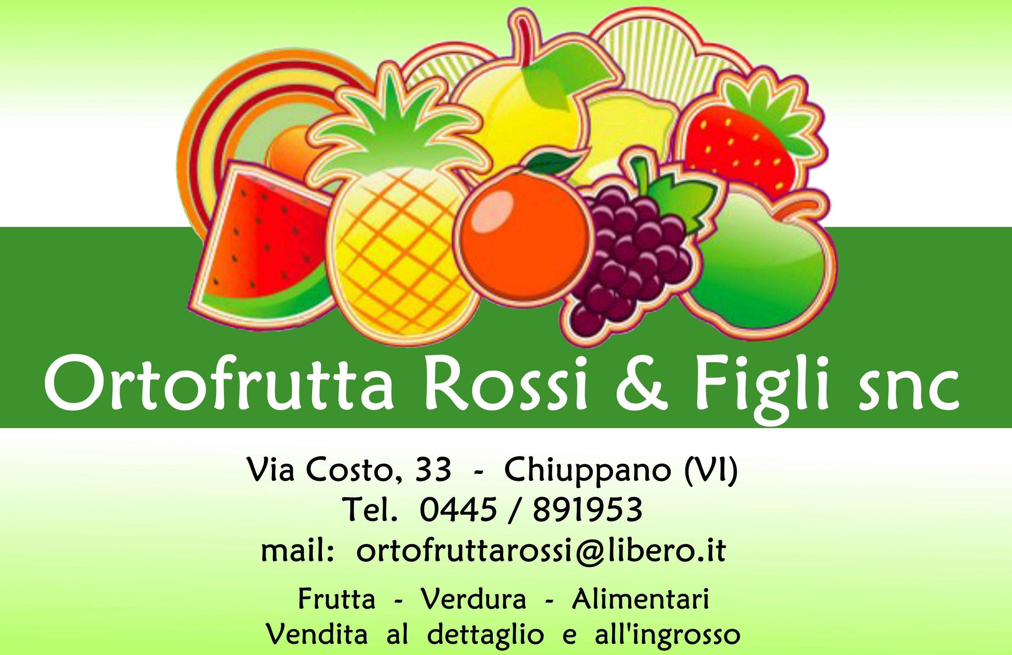 ORTOFRUTTA ROSSI & FIGLI - LOGO