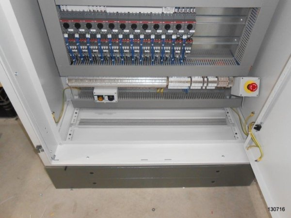 automation booth for purification plant