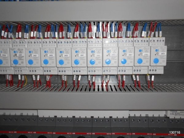 cabina di automazione impianto depurazione