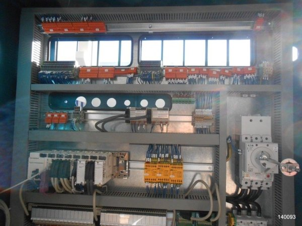 assembling of industrial electrical substations