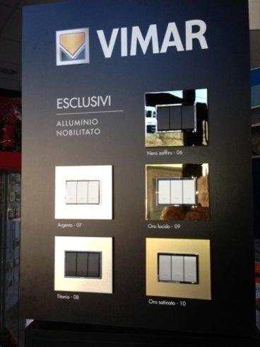 Placche elettriche Vimar