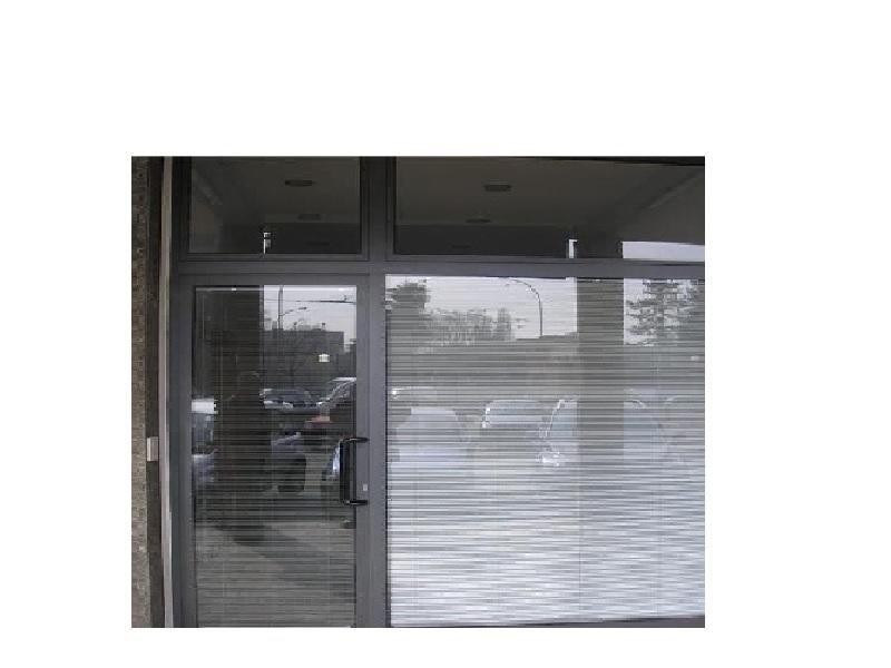 profilo alluminio porte e portoni negozi condomini