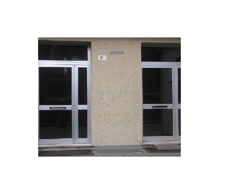porta ingresso condomini alluminio