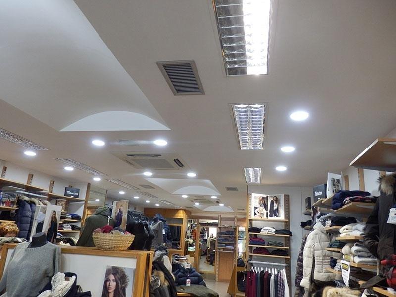led negozio