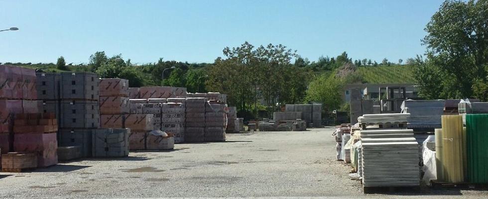vendita materiali per edilizia