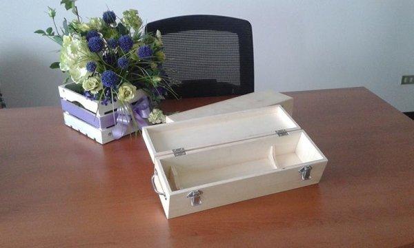 contenitori personalizzati in legno