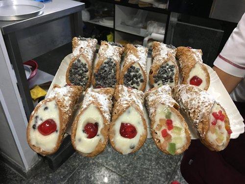 Cannoli siciliani a Cirié