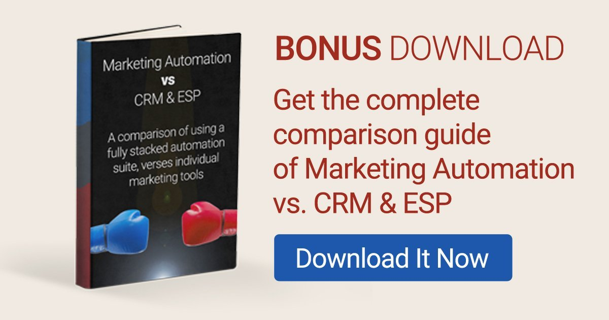 Marketing Automation vs CRM vs ESP - FIGHT!