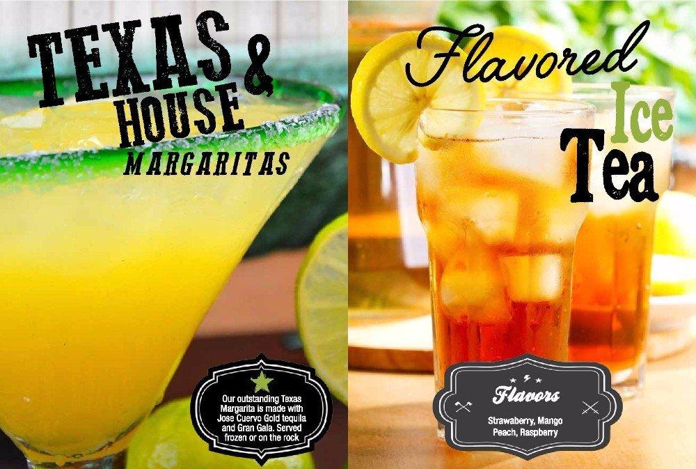 Texas & House Margaritas