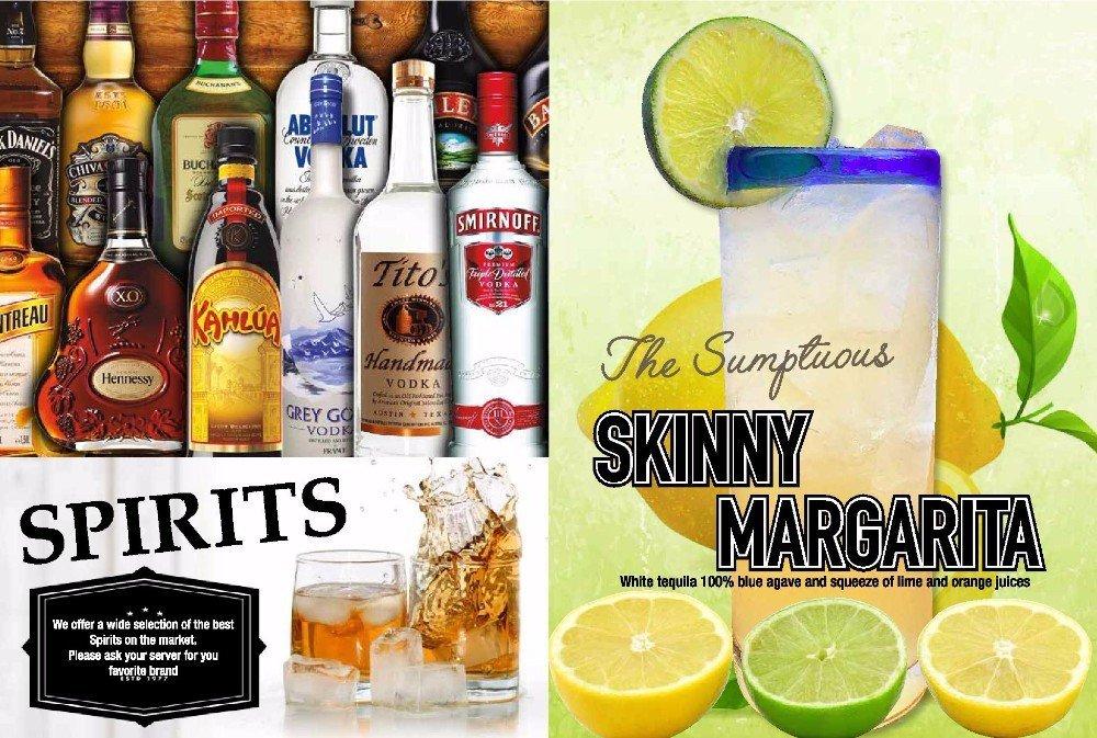 Spirits & Skinny Margarita