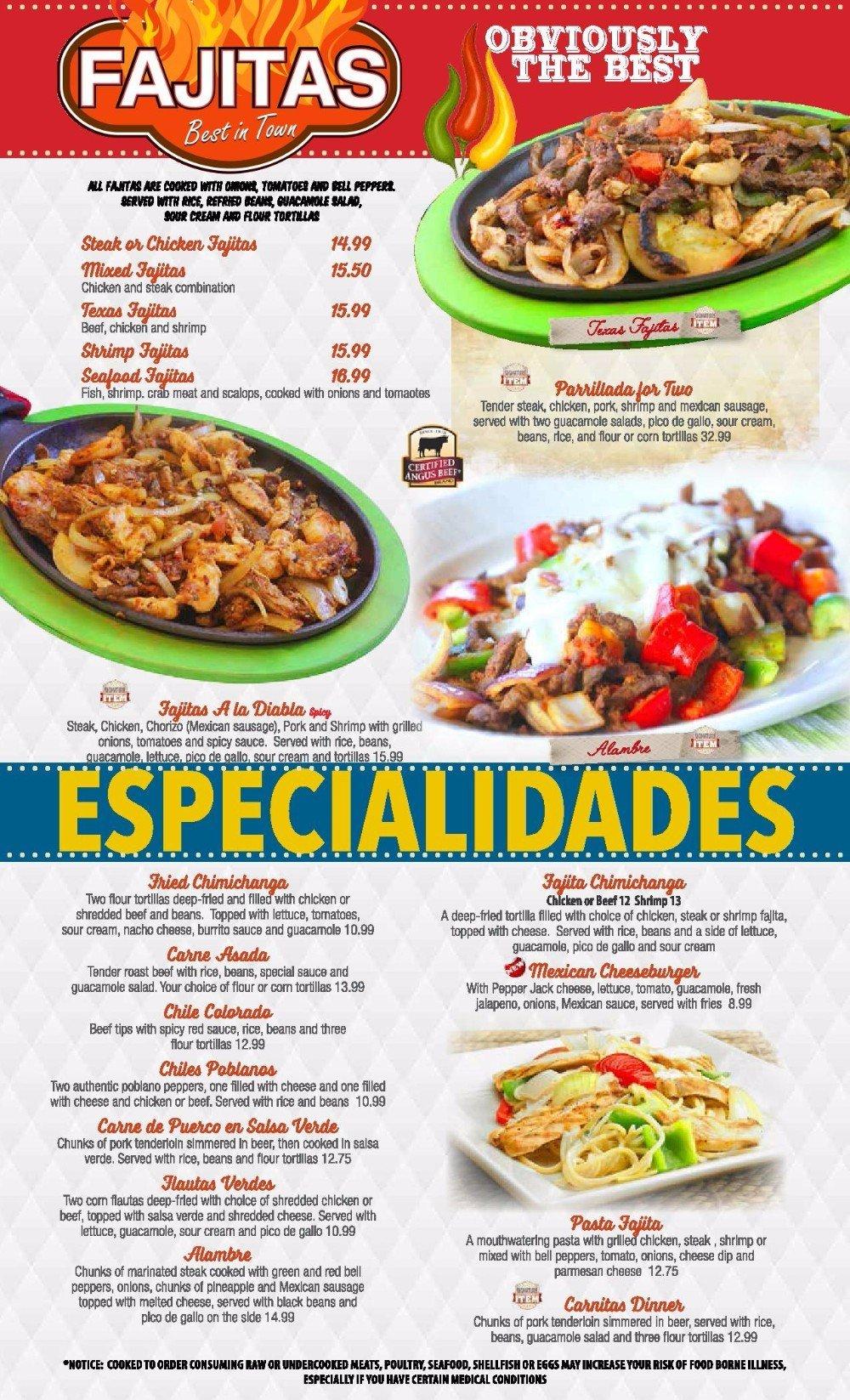 El Mariachi #2's Fajitas