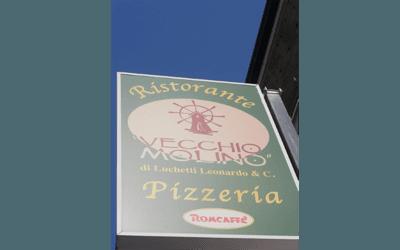 Carta del menù del ristorante