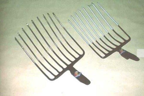 Produzione forconi metallici