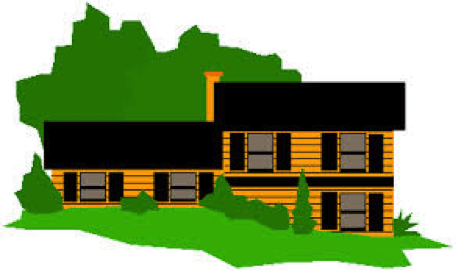 Drawing of a home that would need a mortgage in Parkersburg, WV