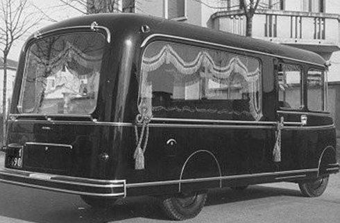 trasporti funebri anni trenta