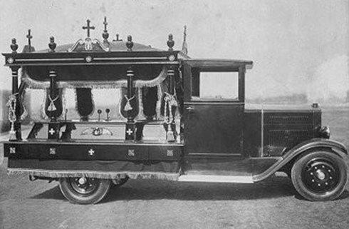 autovettura per trasporto funebre