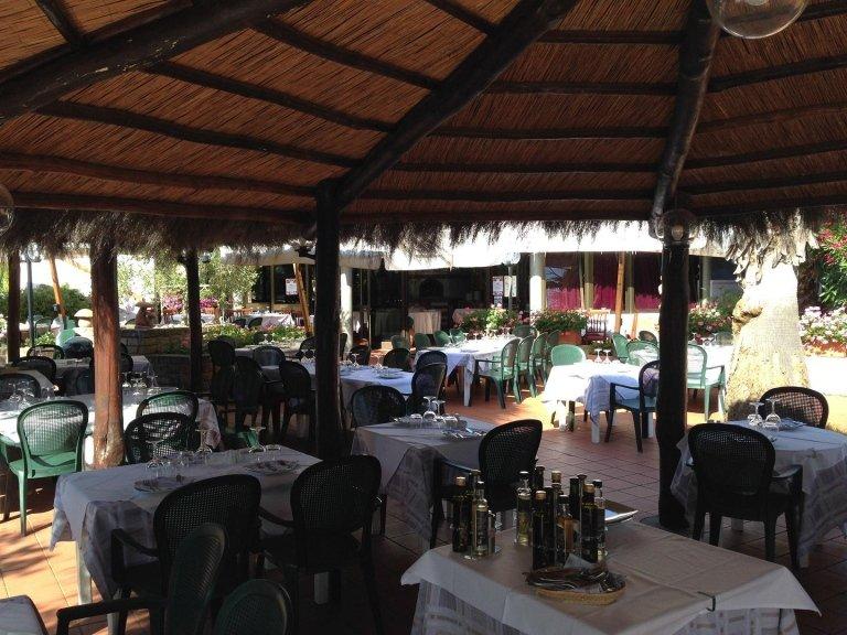 veranda del Ristorante Bernardo a Punta Ala