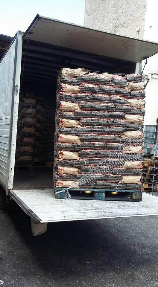 trasporto sacchi carbone
