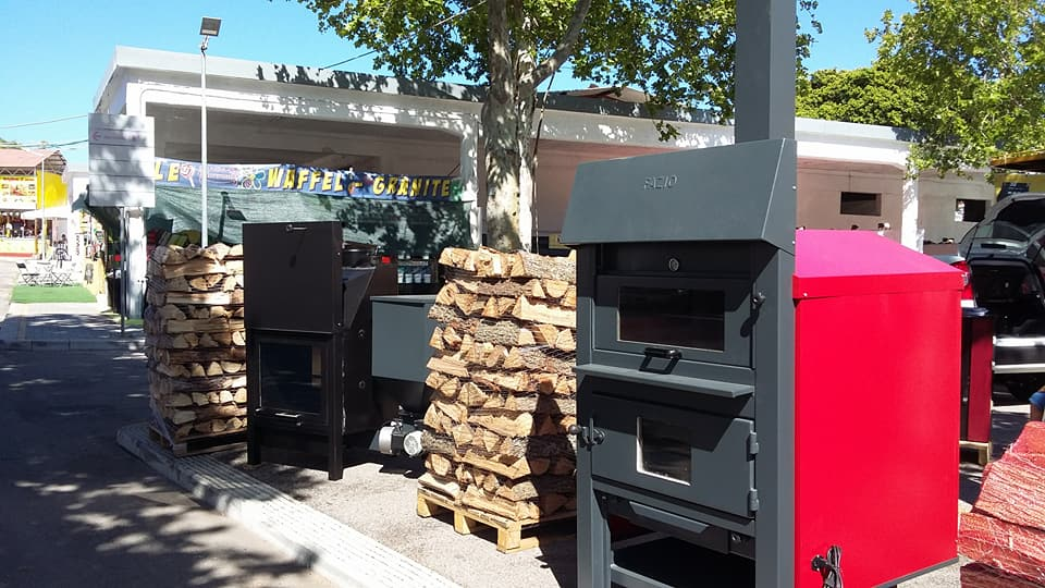 legna in bancali