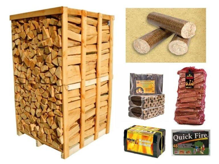 della legna e della carbonella
