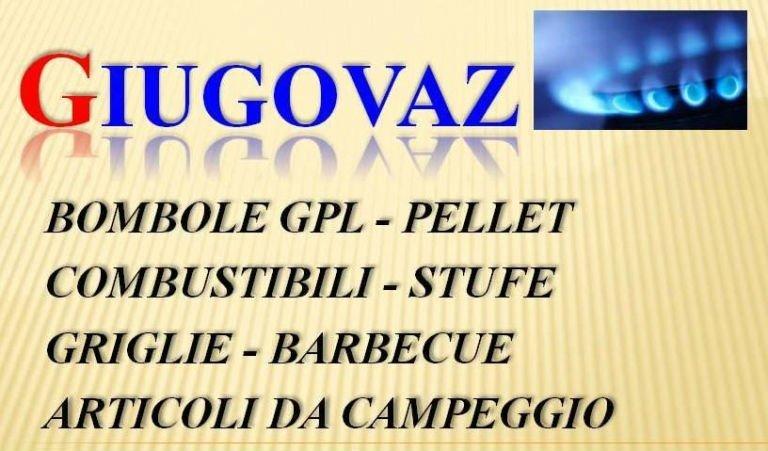 scritta Giugovaz e sotto i prodotti disponibili